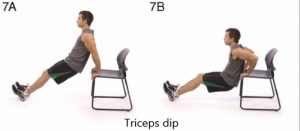This science proven 7 minute workout needs only simple equipment- a chair (Image:Rick Desi/Youtube Screenshot)