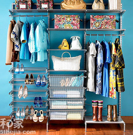 Reorganize your wardrobes to give away item that no longer fit. (Image: home.163.com)
