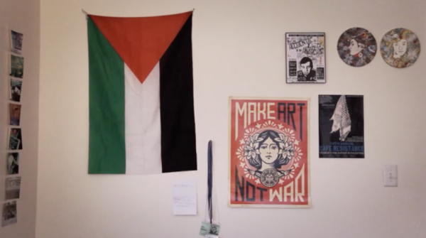 Leila's room. (Screenshot/Vimeo)
