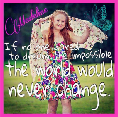 Madeline Stuart is showing the world anyone can achieve their dreams. (Screenshot/YouTube)