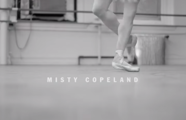 Misty was considered a prodigy after a few months of her first ballet class. (Screenshot/YouTube.)