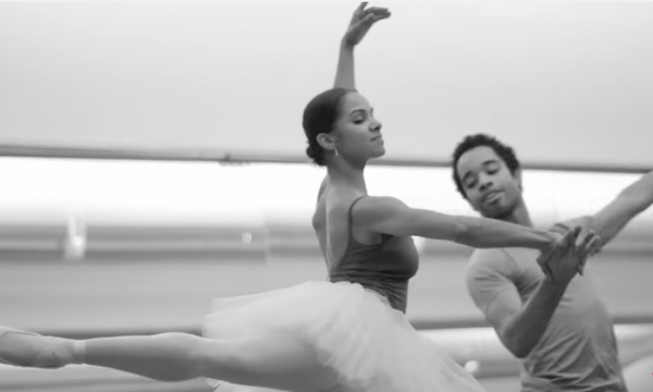 Misty Copeland's performances became events, drawing large, diverse, enthusiastic crowds. (Screenshot/YouTube.)