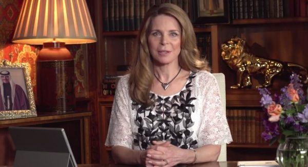 Queen Noor Al Hussein of Jordan. (Image: Screenshot/YouTube)