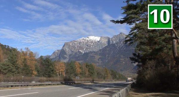 The mounatsin of Switzerland help make it a secure country. (Screenshot/YouTube)
