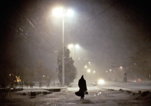 MOLDOVA. Transdniester. 2004. Streetscene along the main boulevard.(Screenshot/Youtube)