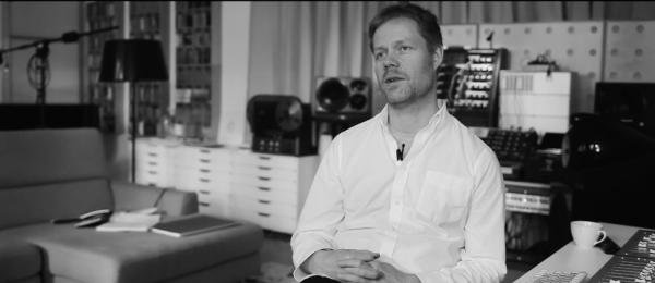 Composer Max Richter. (Screenshot/YouTube)