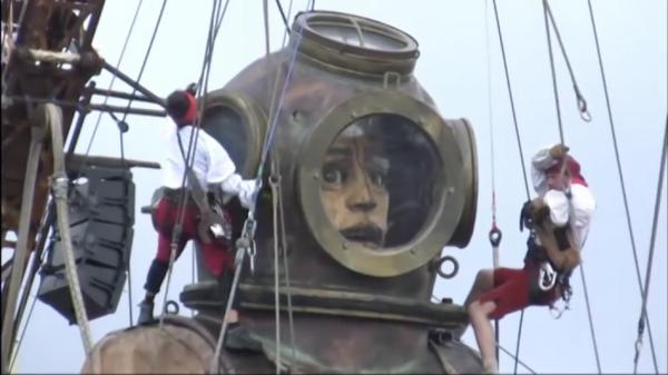 Sea Odyssey in Liverpool in England. (Screenshot/YouTube)