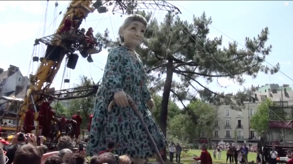 Grandmother Giant. (Screenshot/YouTube)