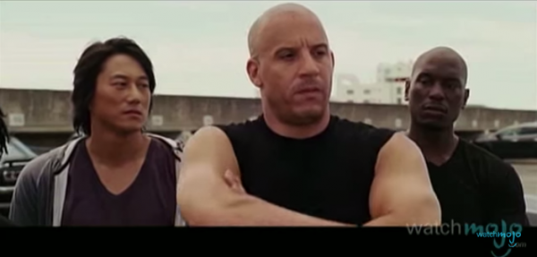 Vin Diesel is best known for his role in the franchise Fast and the Furious. (Screenshot/YouTube.)