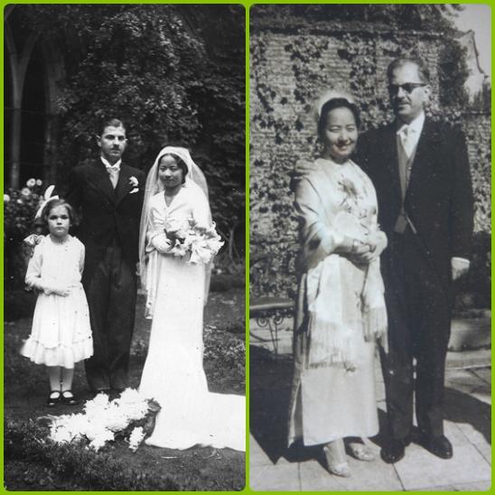 Qian Xiuling and her husband. (Image: Sina.com)