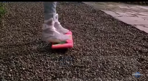It would be great if there were hover boards. (Screenshot/YouTube.)