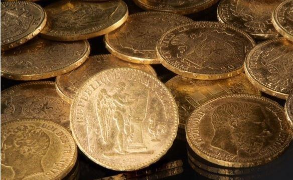 Nazi gold from Lüneburg   Image : (MINKUSIMAGES )