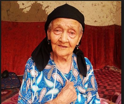 Ms. Alimihan is 128 years old this year, and recognized as the oldest person in China. (Image: NTDTV)