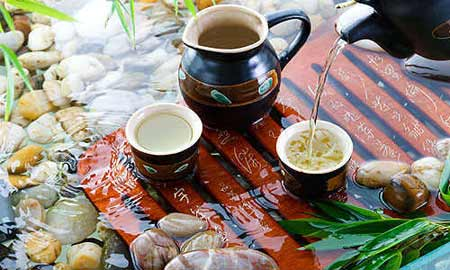 The spirit of the Chinese tea ceremony captures the Chinese attitude towards life and spirituality. (Image: ifeng.com)