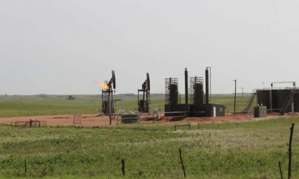 One of 9,700 oil and gas wells drilled in N.D. in the last decade. (Image: Avner Vengosh)