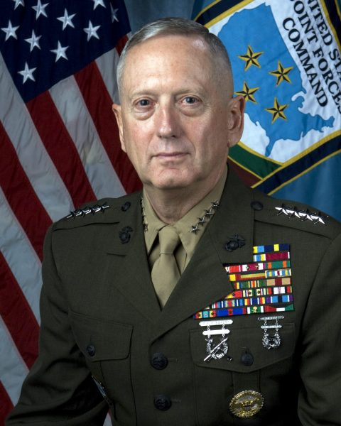 James Mattis when he was the Commander US Joint Forces Command and Supreme Allied Commander Transformation, NATO. (Image: Unites States Department of Defense)