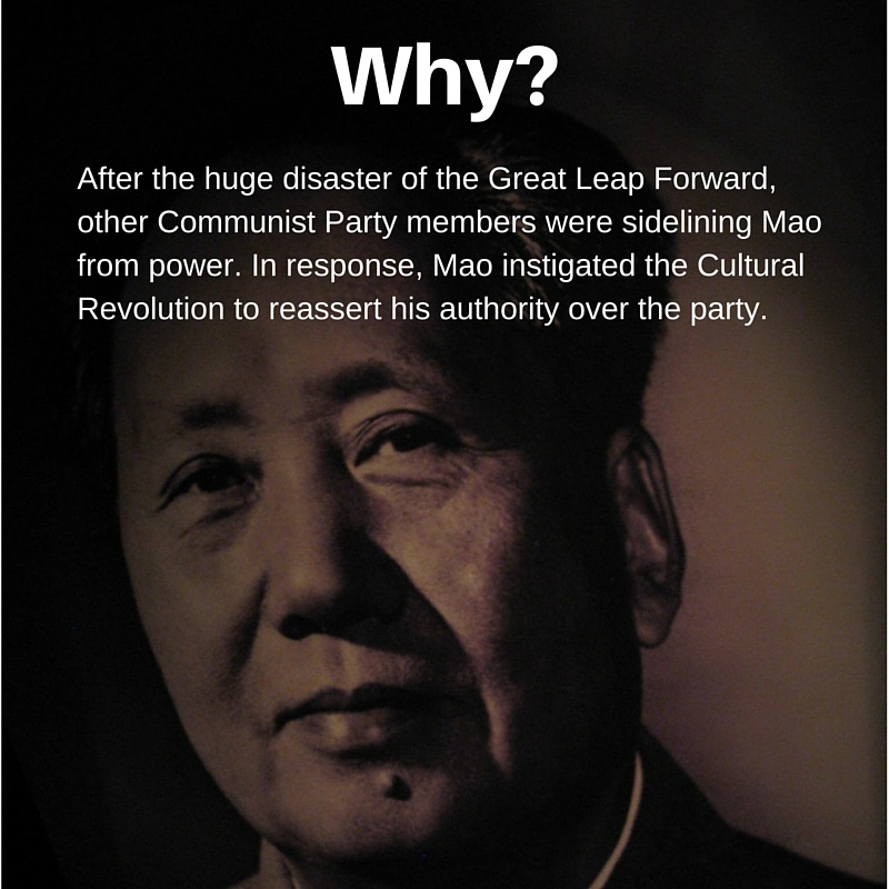 Why did Mao start the Cultural Revolution_