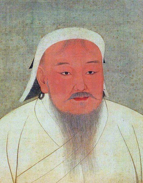 Taizu, better known as Genghis Khan. (Image: wikimedia / CC0 1.0)