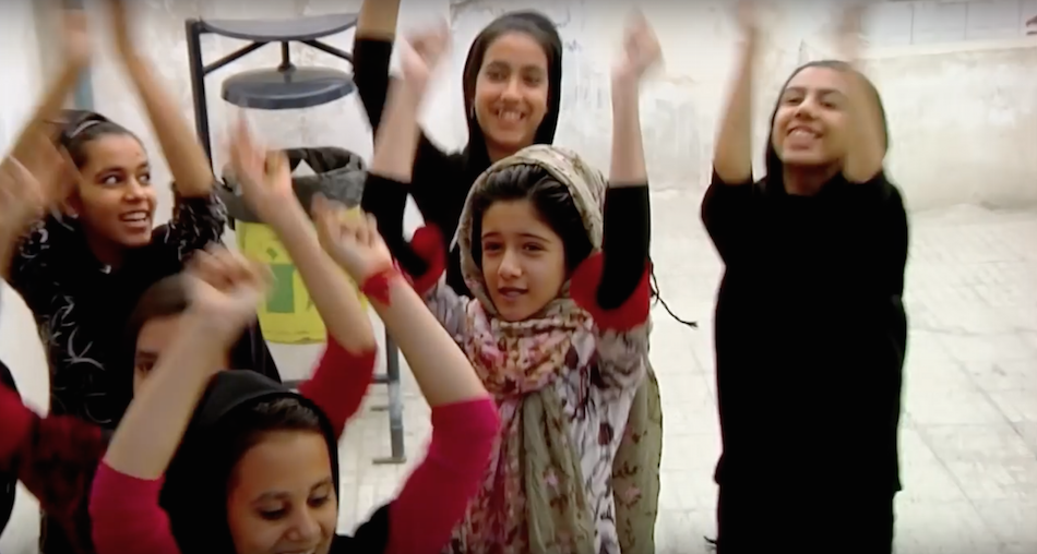 Sonita raps about the issues facing Afghan women and youth. (Image: New Wave Films via YouTube/Screenshot)