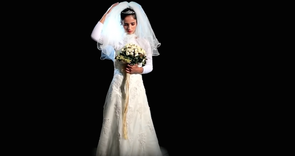 Sonita Alizadeh in her video clip for song 'Brides For Sale.' (Image: New Wave Films via YouTube/Screenshot)