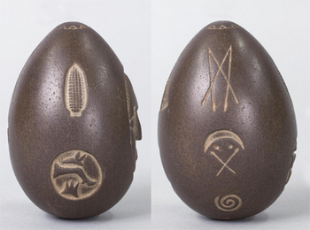 Mystery Stone, photo by New Hampshire Historical Society