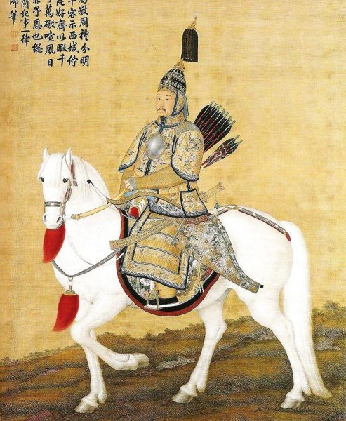 At that time, the state administration was run by Oboi, one of the four ministers. Oboi was arrogant and authoritative and did not show respect for either the Emperor or the other ministers. When officials presented presented memorials to Emperor Kangxi, Oboi declined to do so. (Image: via Wikimedia Commons / CC0 1.0)