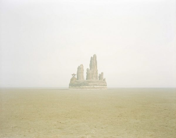 Fake Hill in the Middle of the Lake, Shandong. (Image: Zhang Kechun)