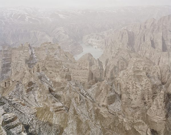 Yellow River in the Middle of the Mountains, Gansu. (Image: Zhang Kechun)