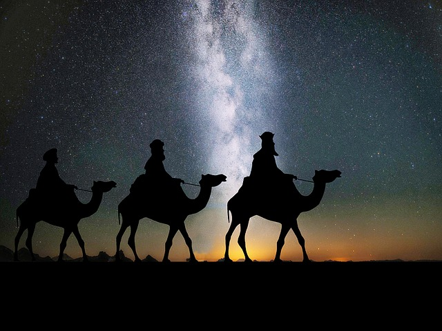 Three wise men gifted Frankincense, Myrrh and gold to Jesus. Some believe gold was turmeric. (Image: Pixabay/ CCO 1.0)