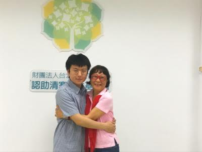 Lin Peng-Ling (Left) and Qiu Shu-Tzi