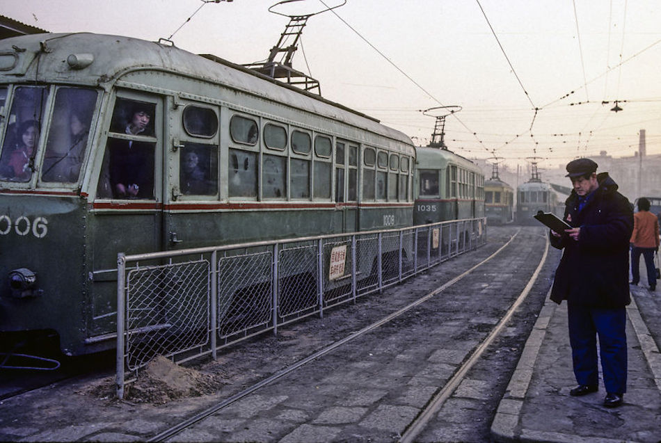 Manchuria Railway From Late Qing Dynasty, Dalian, 1985. (Photographer: Alex NG)
