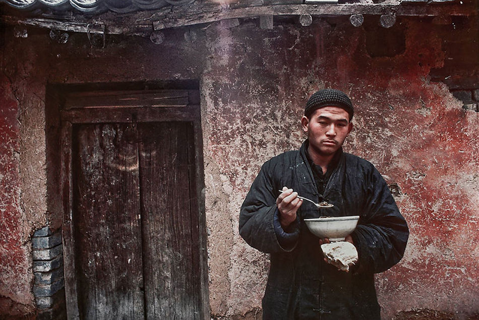 Shaolin Monk, Songshan, 1984. (Photographer: Alex NG)