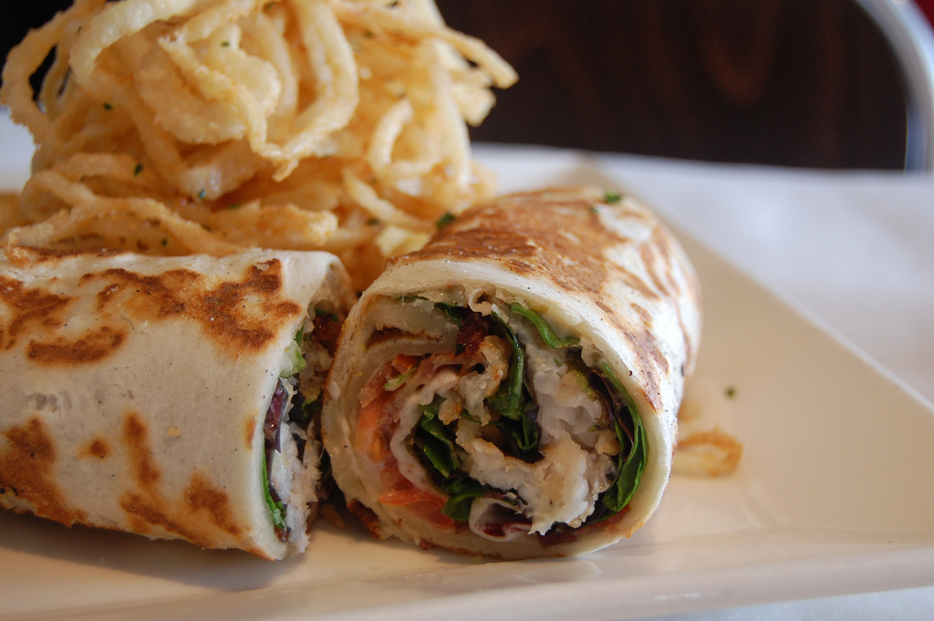 Soon the fusion trend spread to American fast food with the proliferation of wrap restaurants. (Image: stu_spivack via flickr CC BY-SA 2.0)