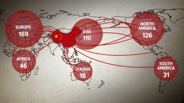 There were 512 Confucius Institutes (CI) and 1073 Confucius Classrooms by 2016. (Image via Films Website)