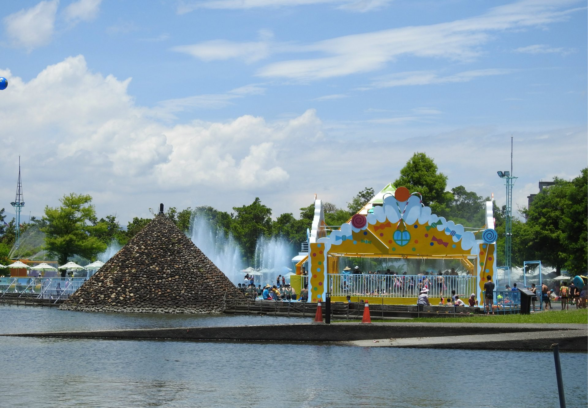 The Water Park of the Yilan International Children's Folklore and Folkgame Festival 2017 (Image: Billy Shyu/ Vision Times)