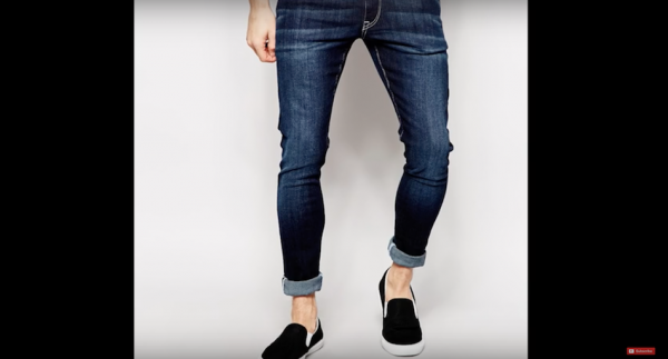 Denim / de Nîmes. (Image via Justine Leconte officiel YouTube/Screenshot)