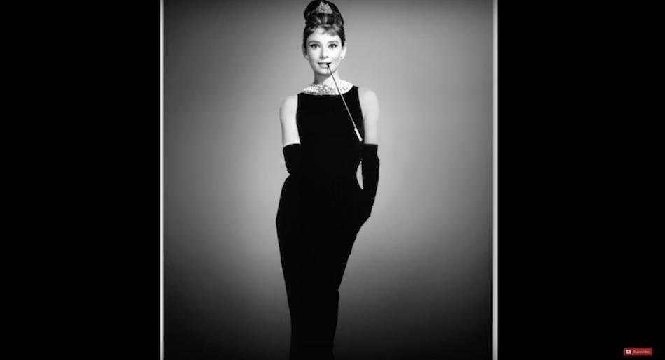 The Little Black Dress. (Image via Justine Leconte officiel YouTube/Screenshot)
