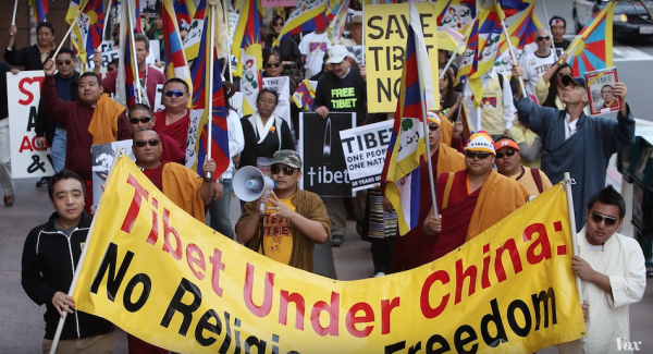 Just as China gives Pandas, it will take away or delay them if it isn't happy with what another country supports such as freedom of speech in USA when it comes to a voice for a free Tibet which China denies. (Image via Vox YouTube/Screenshot)