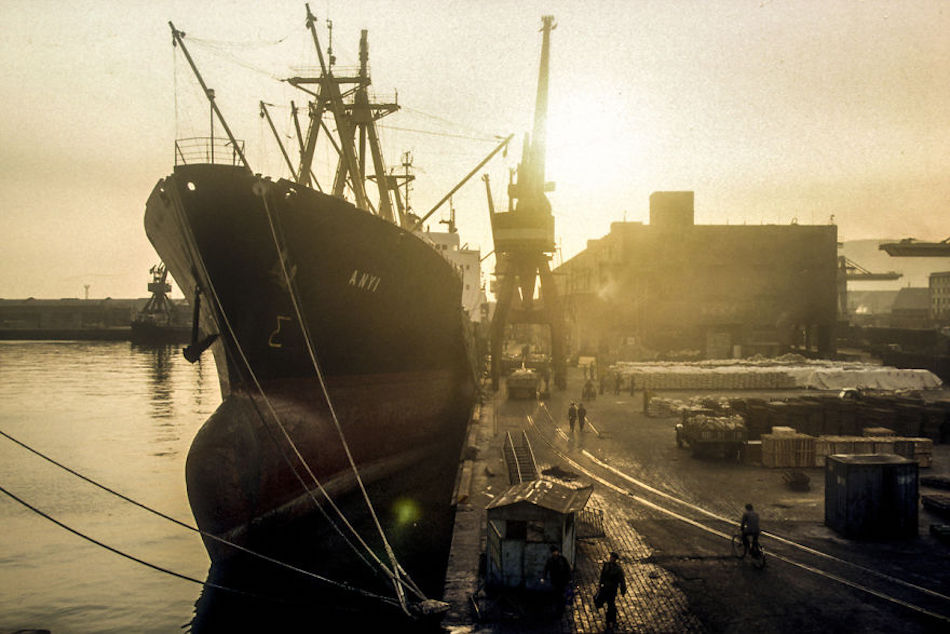 Port Of Dalian, Dalian, 1985. (Photographer: Alex NG)