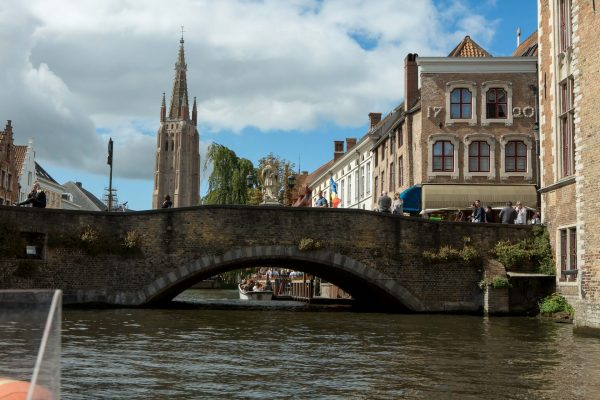 Dozens of bridges cross the canals of Bruges in different parts of the city. (Photo: Hermann Rohr for The Vision Times)