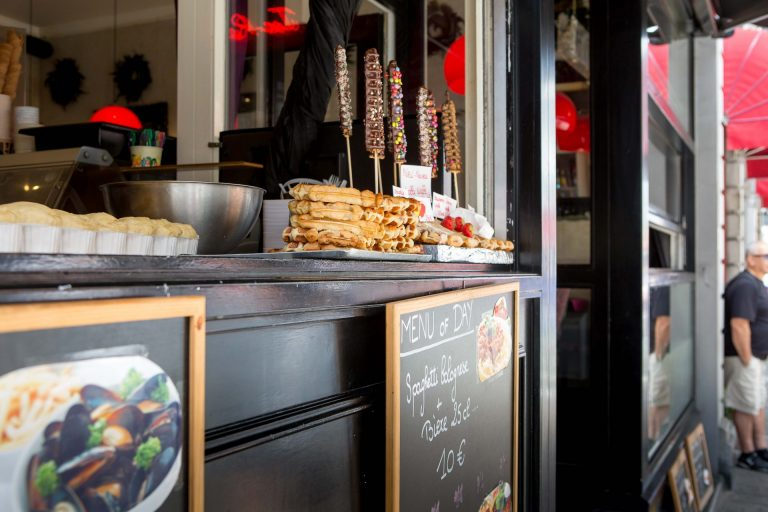 One thing Belgium is known for are it's mussels and waffles. Most Eateries will sell a variety of both. (Photo: Hermann Rohr for the Nspirement)