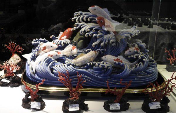 A jade carving displayed at Chii Lih Museum Yilan (Image: Billy Shyu)