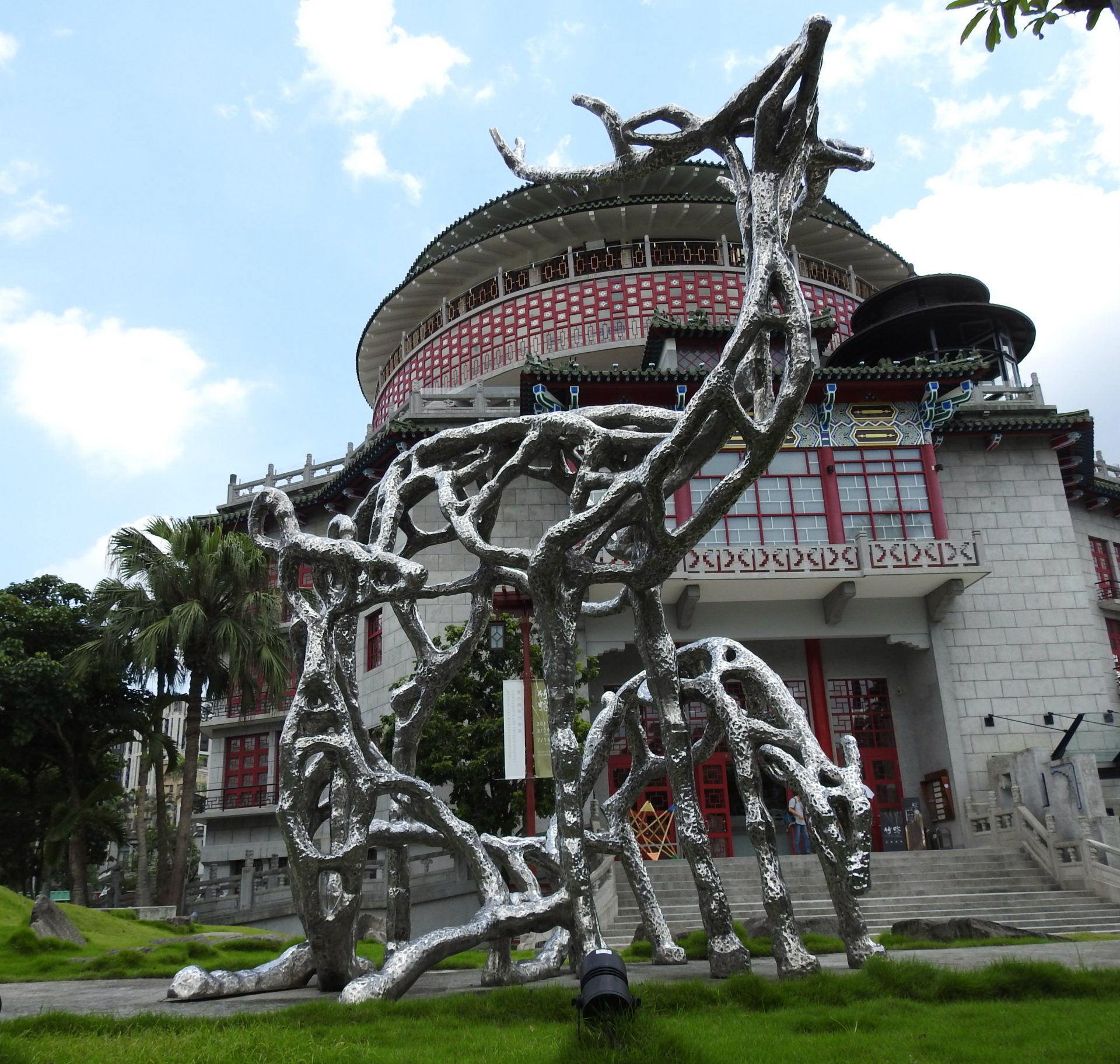 The former building of the National Taiwan Science Education Centre. (Image: Billy Shyu/ Vision Times)