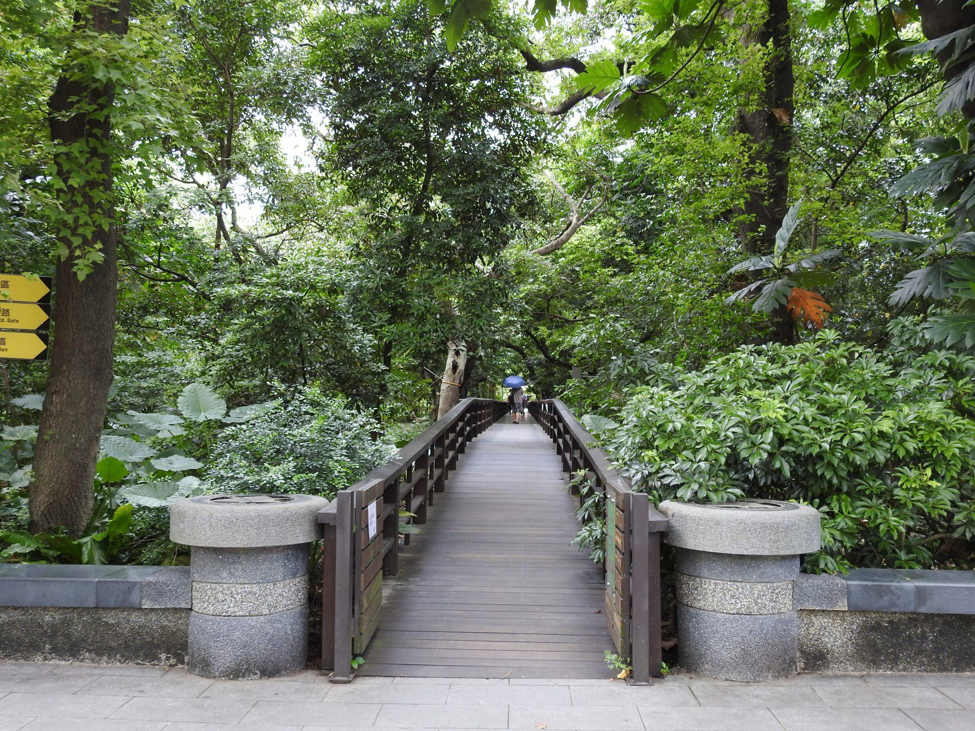 Taipei Botanical Garden was the first botanical garden in Taiwan. (Image: Billy Shyu/ Vision Times)