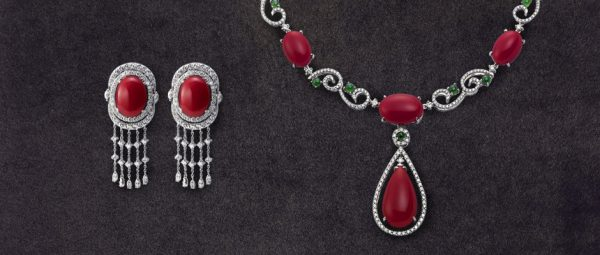 Red Coral Jewelry collected by Chii Lih Museum (Image: Courtesy of Chii Lih Museum)