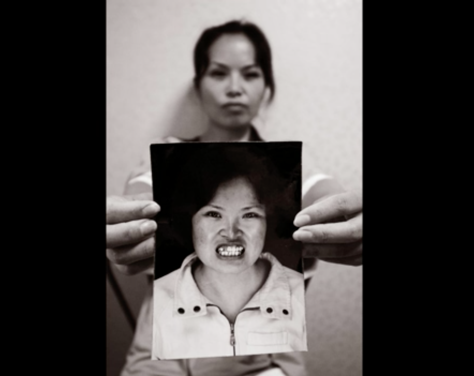 Chengnu recalls her time in a Chinese labor camp. (Image via Jarrod Hall Vimeo/Screenshot)