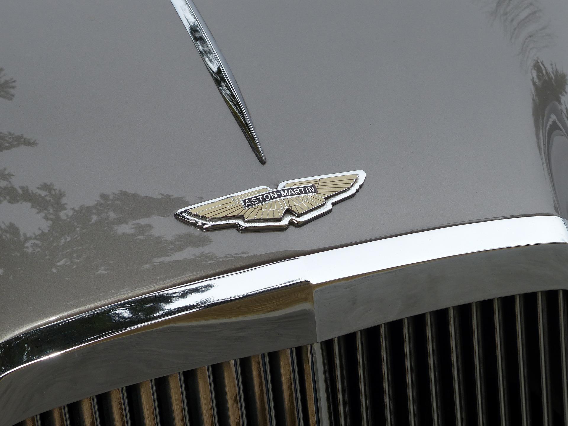 Aston Martin Car logo. (Image: PIRO4D via Pixabay cc 1.0)