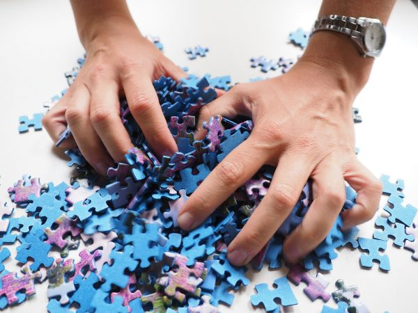 Playing puzzles can increase skills in using numbers and reasoning abilities. (Image: Pixabay)