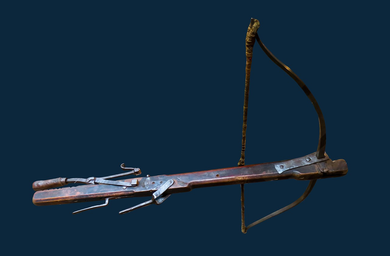 In the year 200 B.C., the Chinese invented the crossbow, which was mainly used for warfare. (Image: pixabay / CC0 1.0) (Image: pixabay / CC0 1.0)