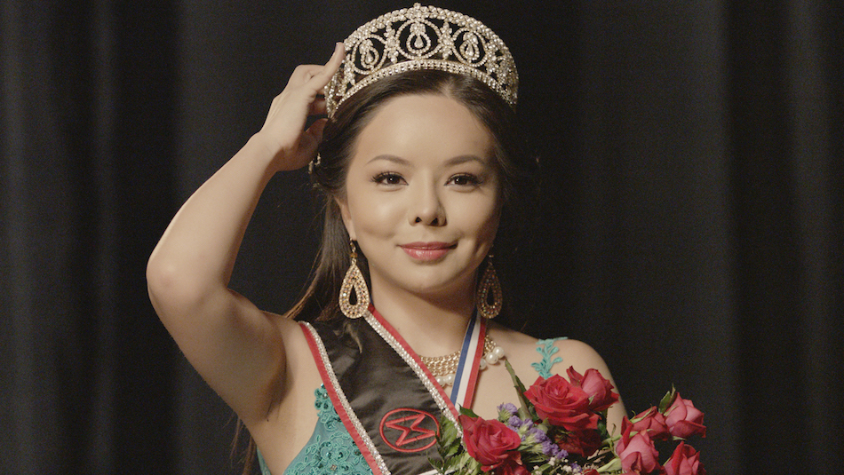 Anastasia Lin crowned as Miss World Canada in 2015. (Image via media kit Badass Beauty Queen Film)
